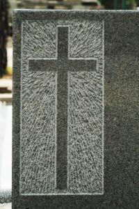 krzyż nagrobkowy Konstancin