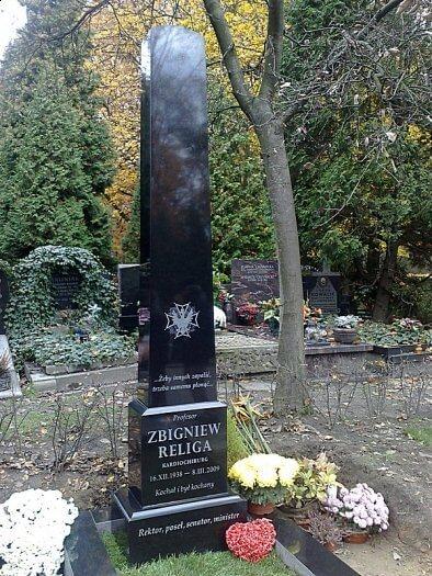 Zbigniew Religa grób