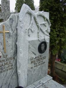 rzeźby granitowe Marysin Wawerski