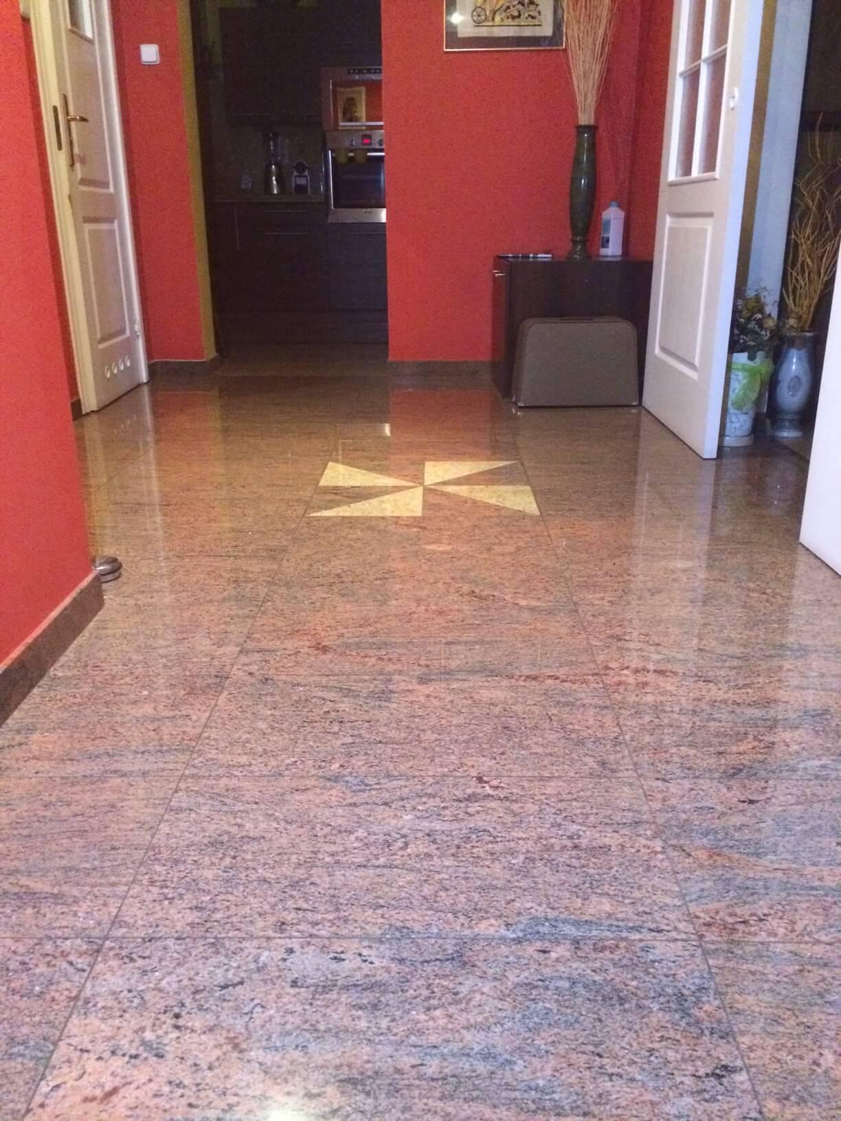 granit podłoga