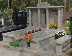 galerie pomników granitowych