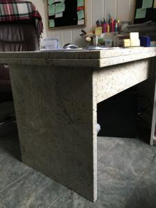 Biurko granitowe kashmir white