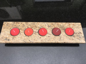 świecznik granit warszawa