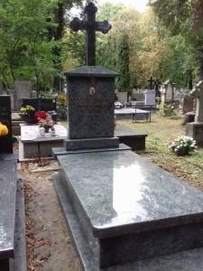 cmentarz prawosławny nagrobki granitowe