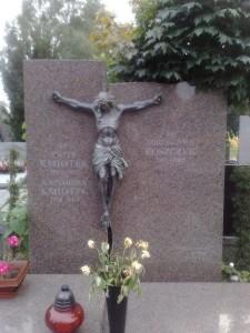 pomnik granitowy podwójny