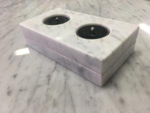 świecznik marmurowy prezent