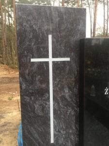 pomnik pojedynczy granit