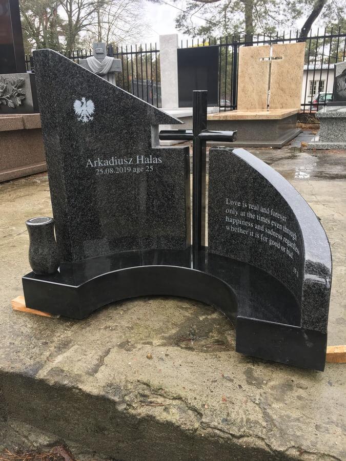 krzyż granit warszawa