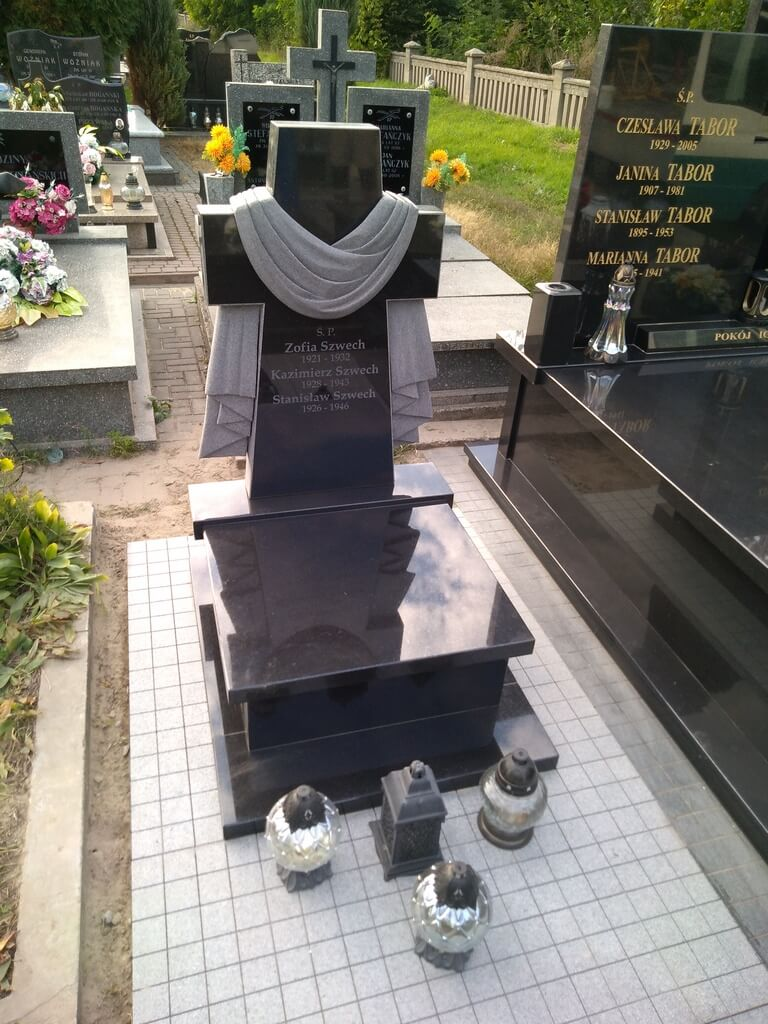 nagrobek urna szwed