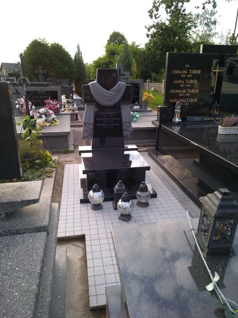 urna nagrobek granitowy warszawa
