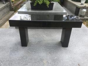 ławka granit