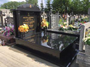 nagrobki granit cmentarz dobre