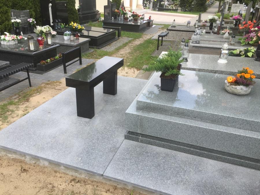 pomniki granitowe szare