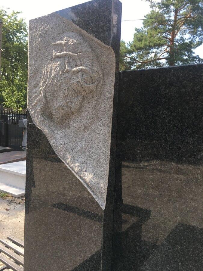 granit impala płaskorzeźba