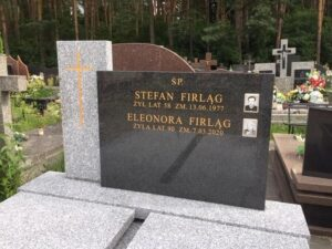 nagrobki podwójne cmentarz wiązowna