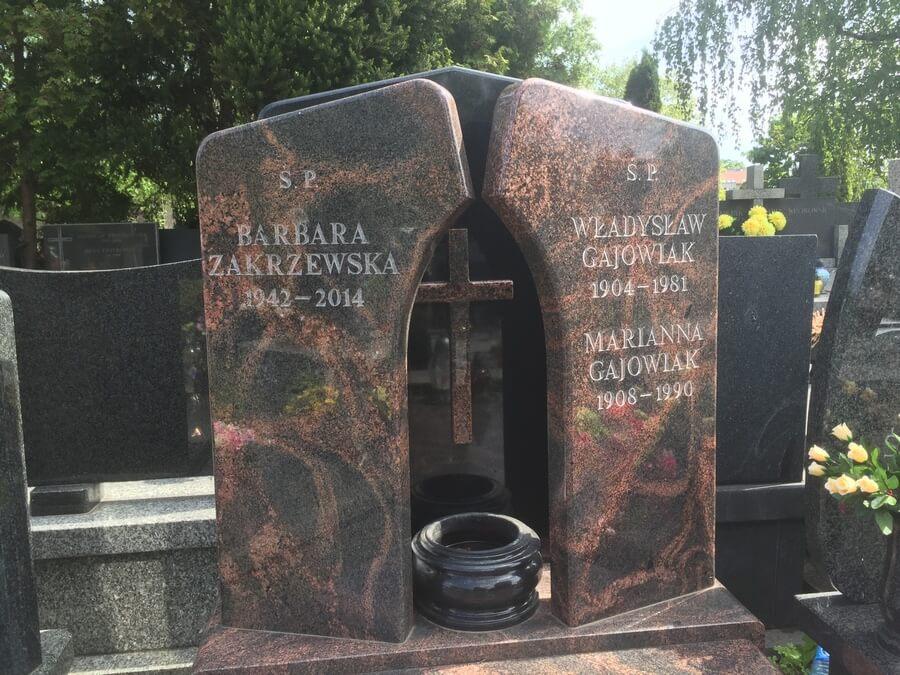 nowoczesne pomniki granitowe warszawa