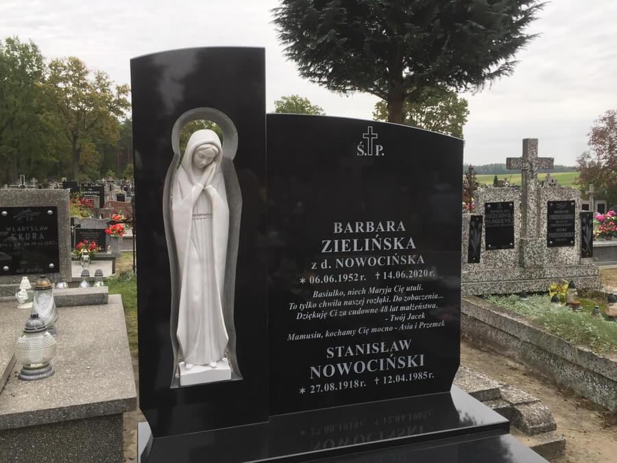 pomnik z granitu brasilian