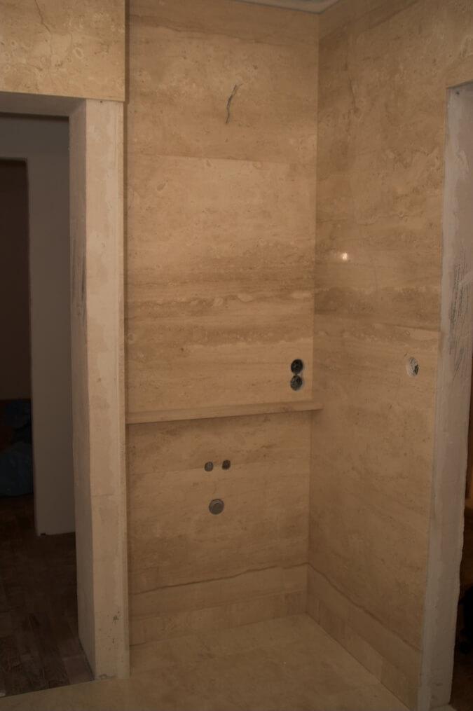 łazienka w kamieniu marmur warszawa