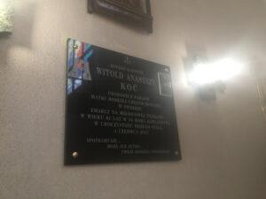 tablica pamiątkowa granitowa warszawa