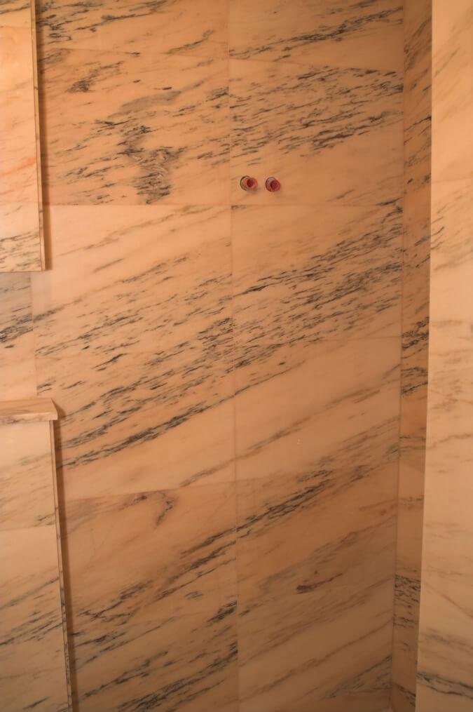marmur łazienka przykład warszawa