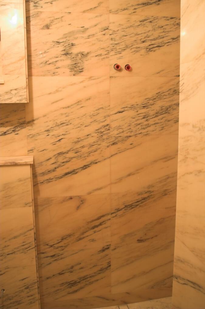 marmur łazienka przykłady warszawa
