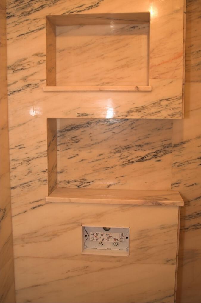marmur w łazience warszawa